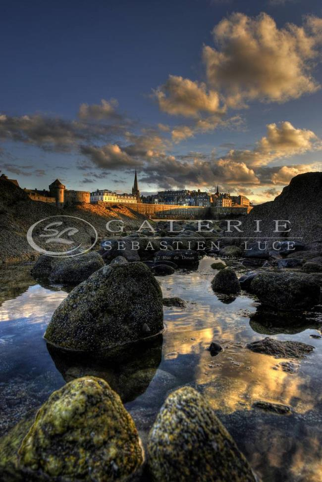 Saint Malo on the rocks - Photographie Photographies par thématiques Galerie Sébastien Luce